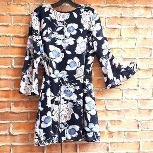 Floral Mini Dress / Tunic